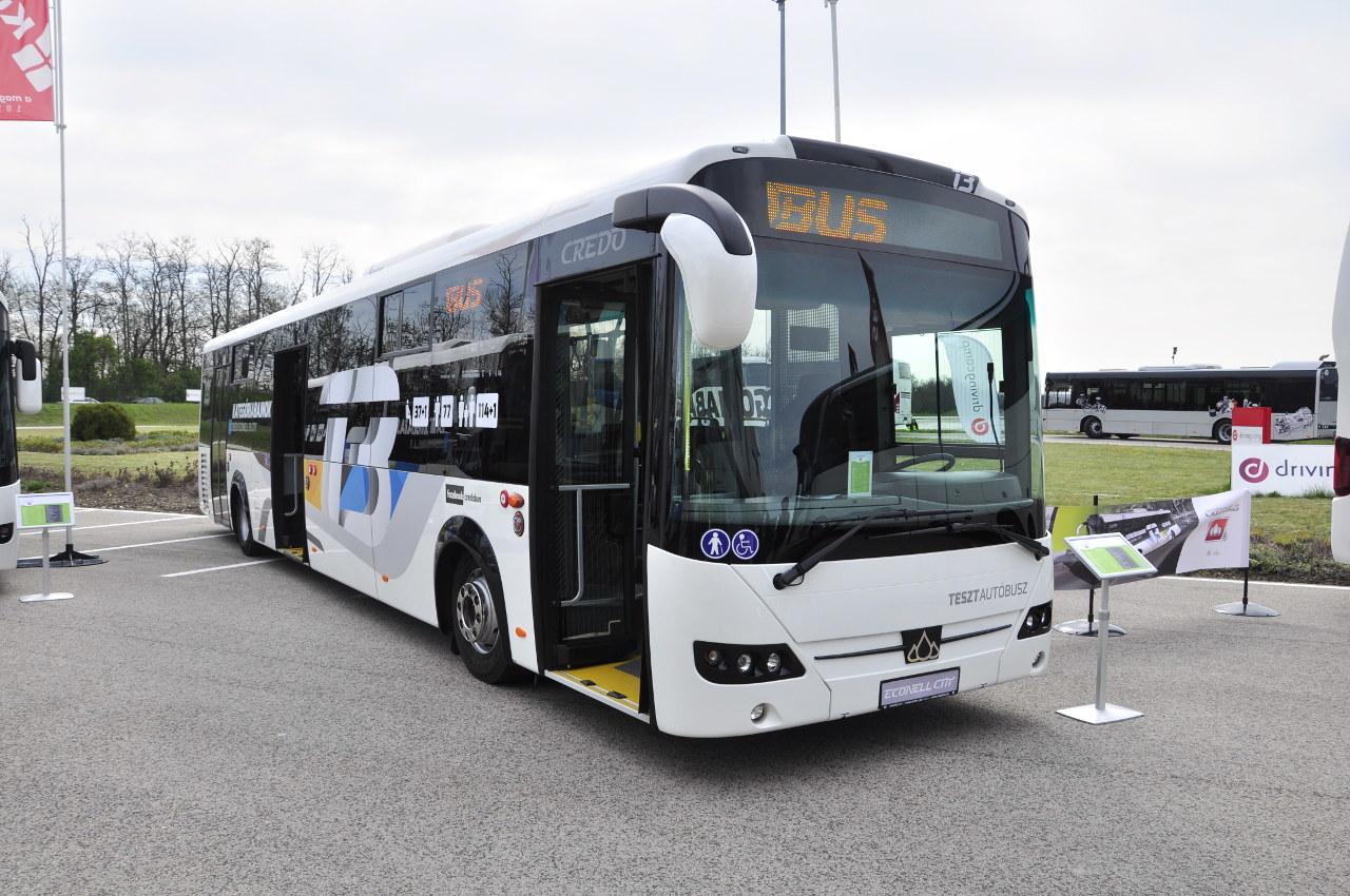 A Credo Econell CiTY új, 13 méteres változata sok járaton akár csuklós buszokat is kiválthat