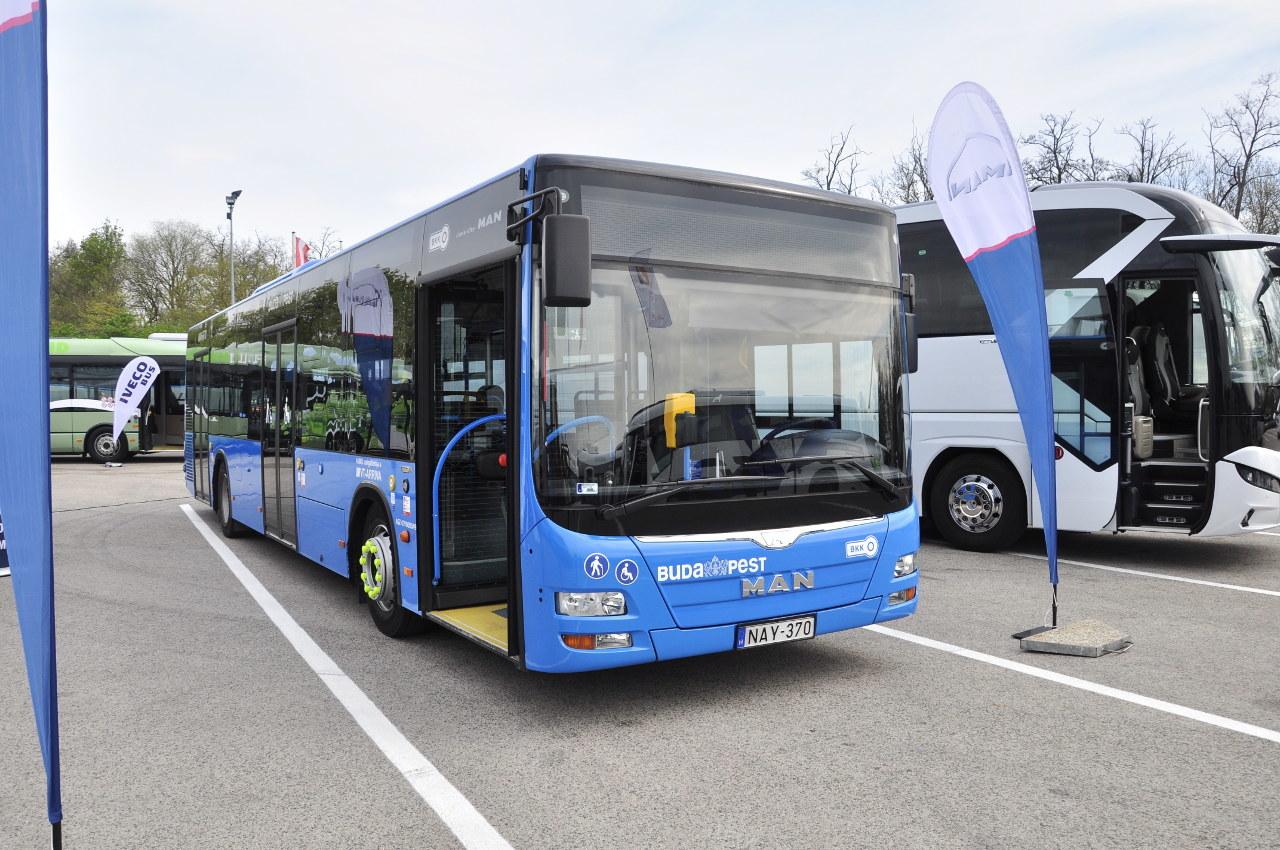 Budapesten és környékén több mint száz ilyen MAN Lion?s City alacsonypadlós városi busz teljesít szolgálatot nap mint nap a BKV színeiben