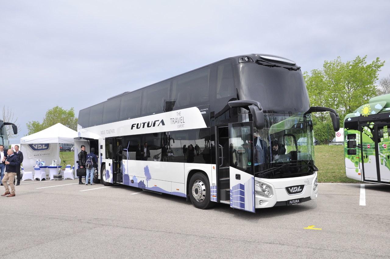 Pontosan ezt a VDL Futura FDD2-141 emeletes tesztbuszt próbálhattuk ki tavaly Hollandiában, amelyről novemberi lapszámunkban részletesen beszámoltunk