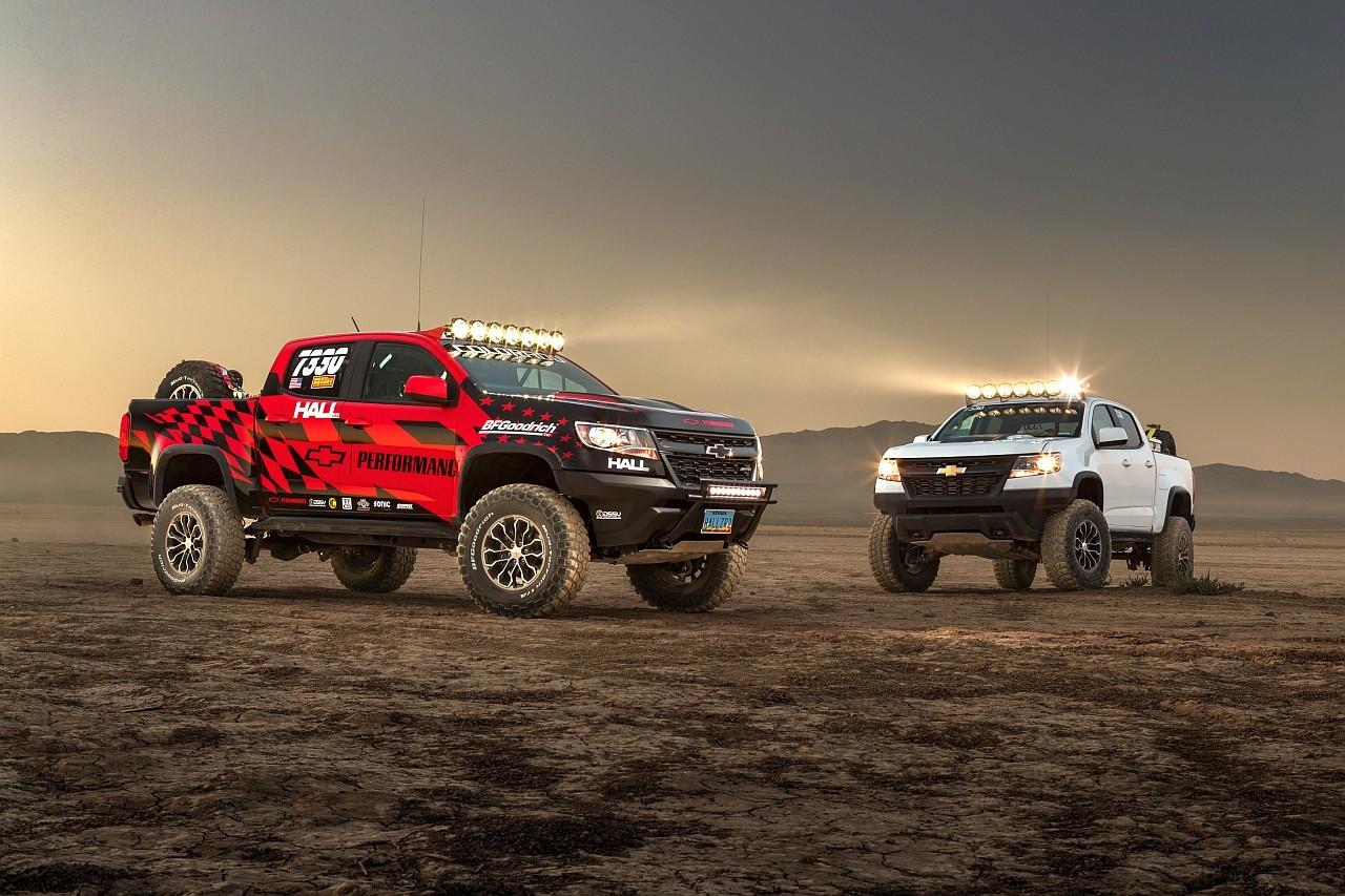 Az egyedi ZR2 modellek, így a ZR2 Race Development Truck is hosszabb rugóúttal rendelkező hátsó laprugókat kaptak