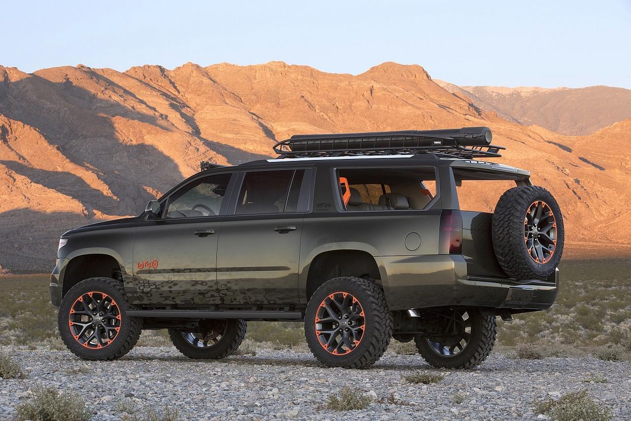 A tanulmány megvalósításánál cél volt a szellős, tágas térérzet, amit a hátsó rész megnyitásával értek el a Chevrolet szakemberei