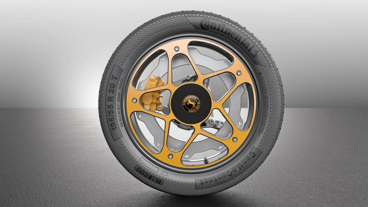 20 colos méretben mutatta be a Continental a New Wheel Concept tanulmányát