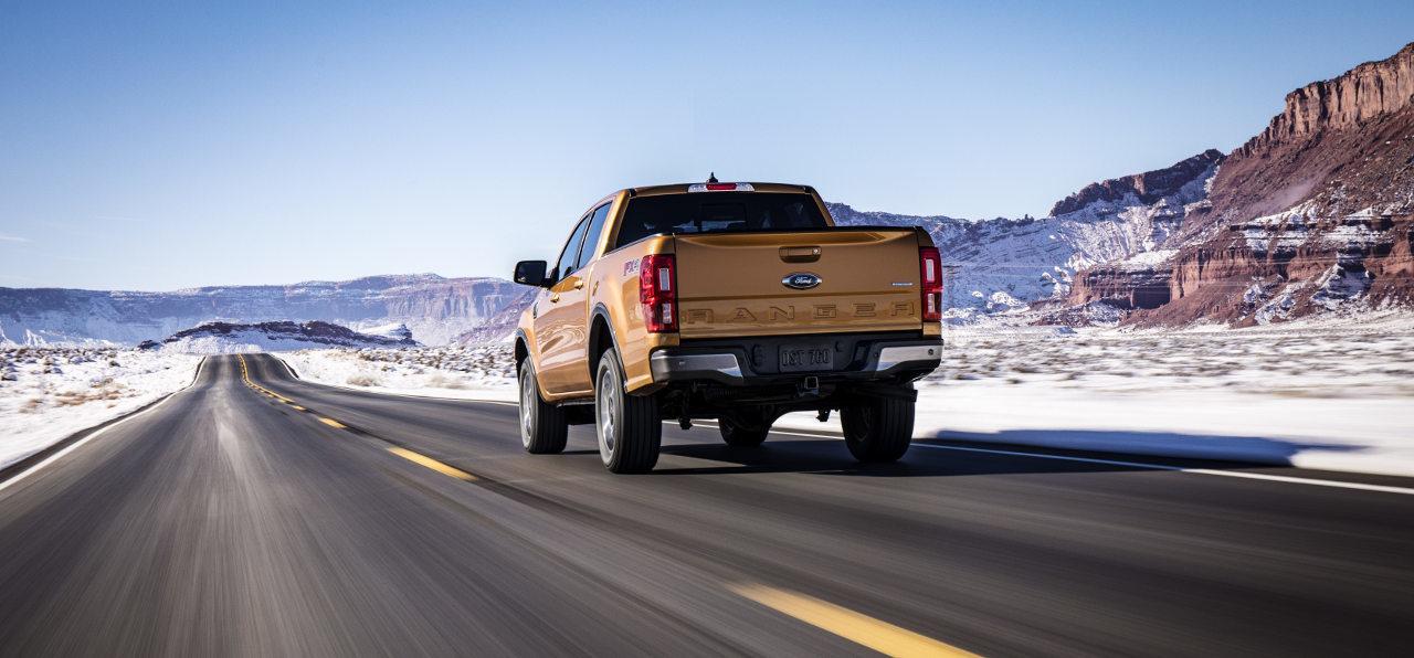 A vadnyugaton érzi igazán elemében magát az egyelőre csak az amerikai piacra szánt új Ranger