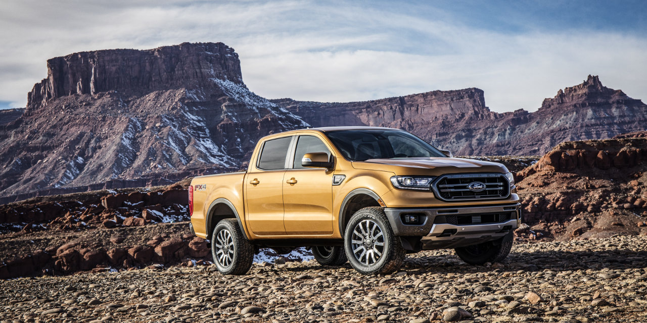 Ford Ranger 2019 (USA)
