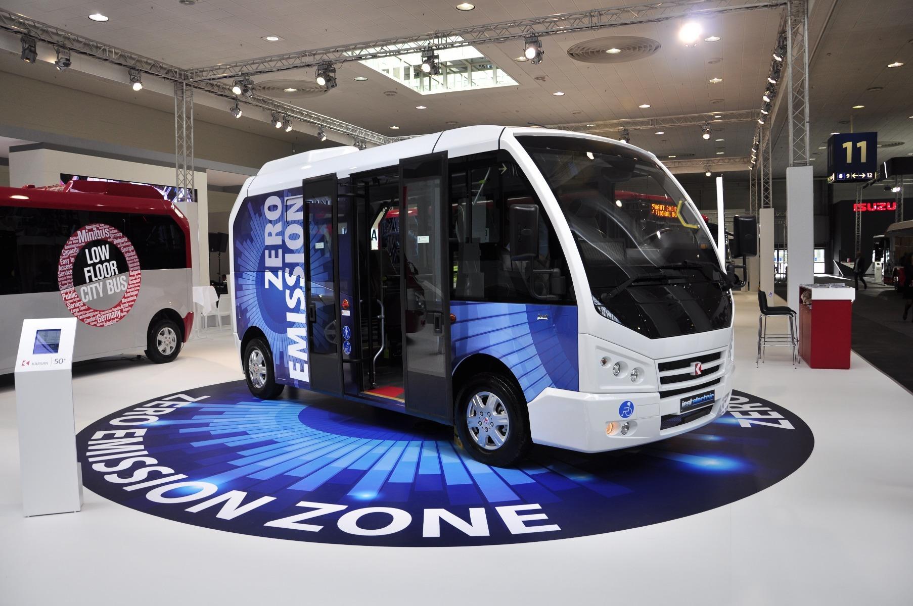 A Karsan Jest midibusz elektromos változatának hatótávolsága 165 kilométer