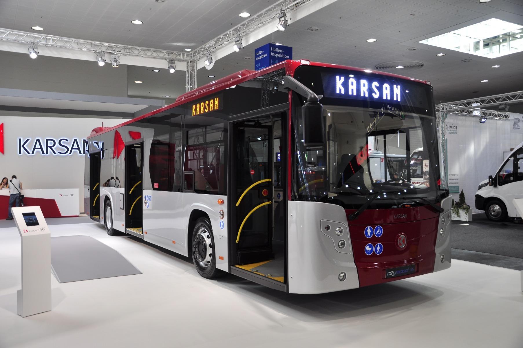 A Karsan Citymood városi busz 10,6, 12 és 18 méteres modellként is készül, Euro 6-os motorjai az FPT-től származnak