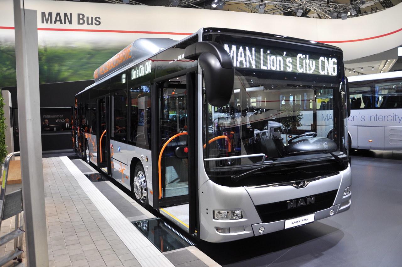 Egyre keresettebb Európában a sűrített földgázzal üzemelő MAN Lion's City CNG városi busz.