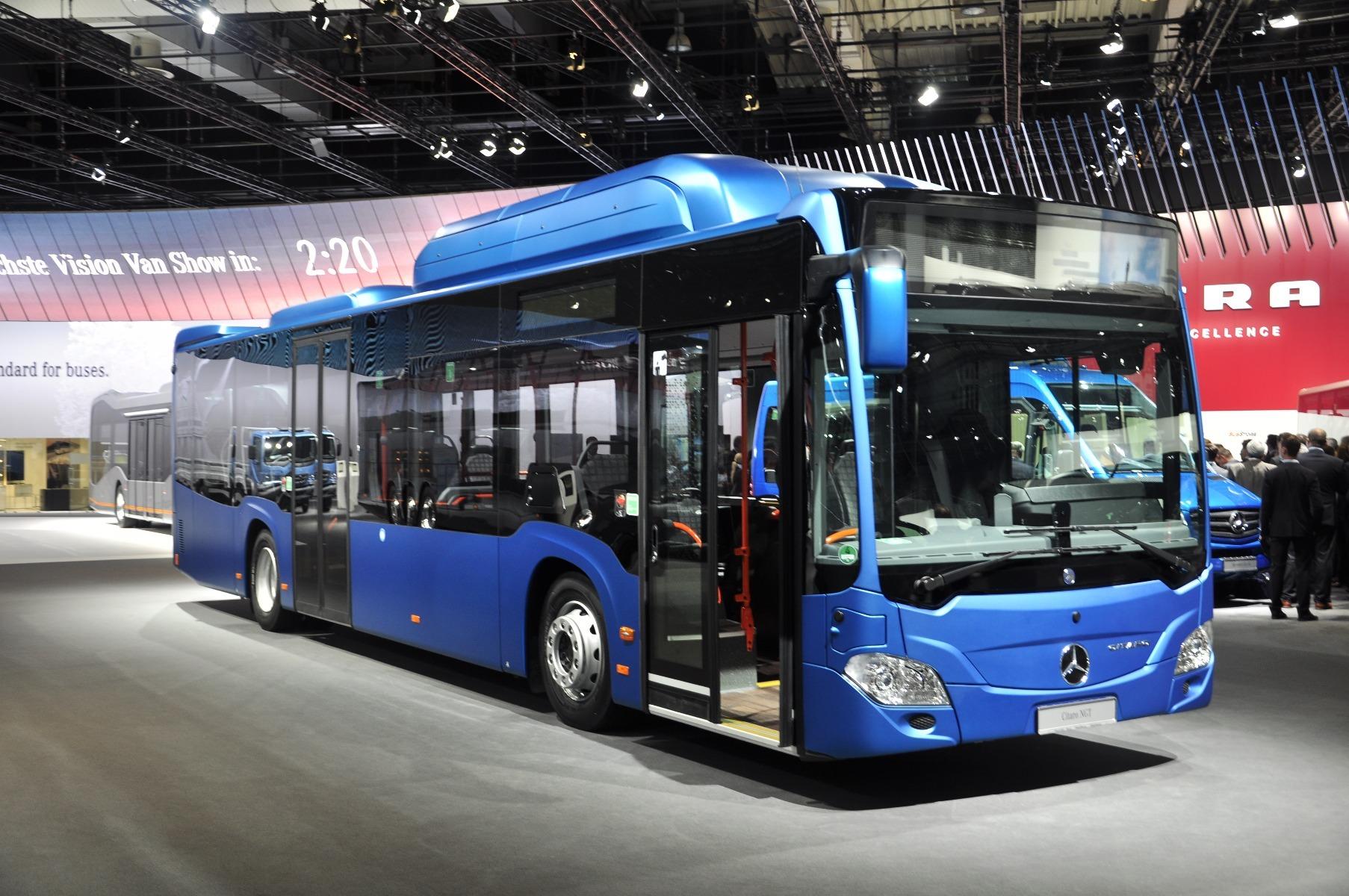 A Mercedes-Benz Citaro NGT új gázmotorja csupán 7,7 literes, ám így is 302 lóerős