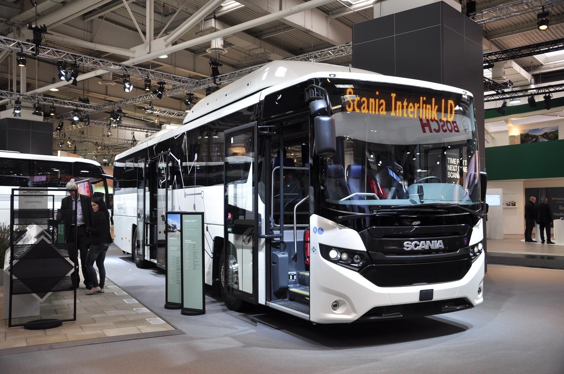 A Scania Interlink LD az első sűrített földgázzal (CNG) üzemelő, normál padlómagasságú autóbusz
