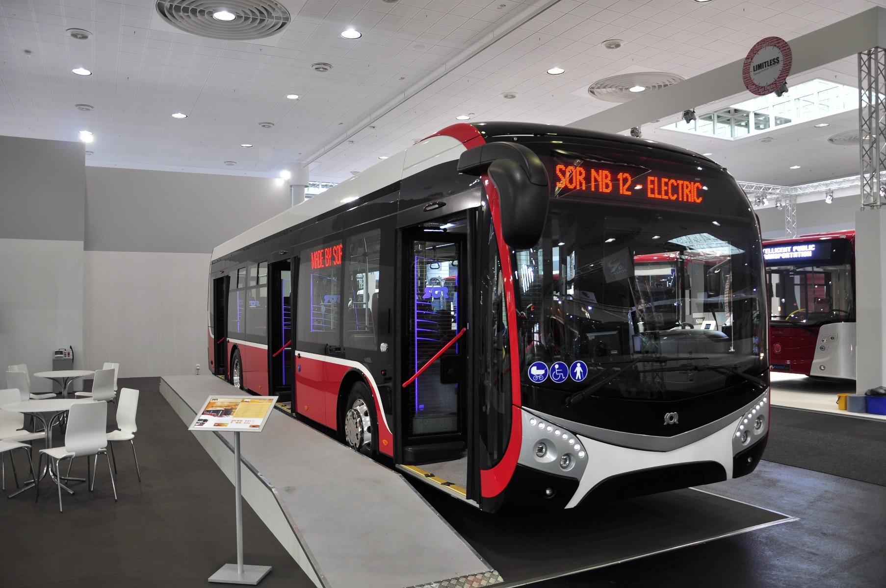 Immár a SOR is gyárt tisztán elektromos városi buszt, méghozzá igen korszerű kialakítású karosszériával