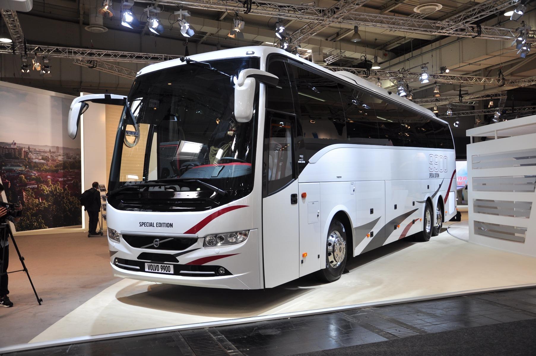 A színházpadlós Volvo 9900 egy különleges kiadású változatban jelent meg az IAA-n
