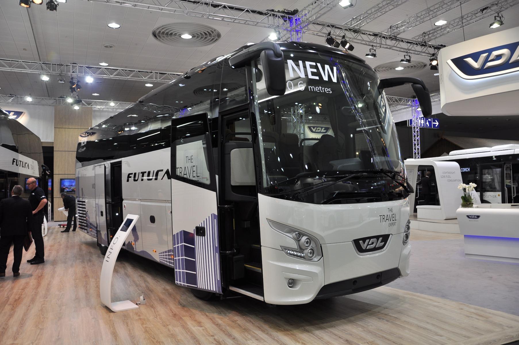 A VDL Futura újdonsága a 10,6 méter hosszú FHD2-106 modell