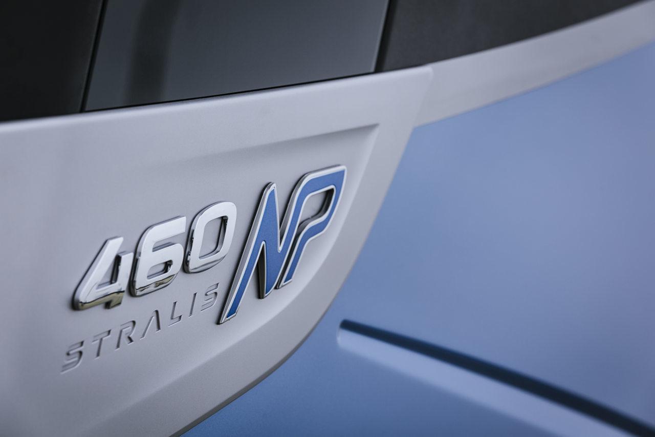 460 lóerős a piac legerősebb, cseppfolyósított földgázzal (LNG) üzemelő erőforrása