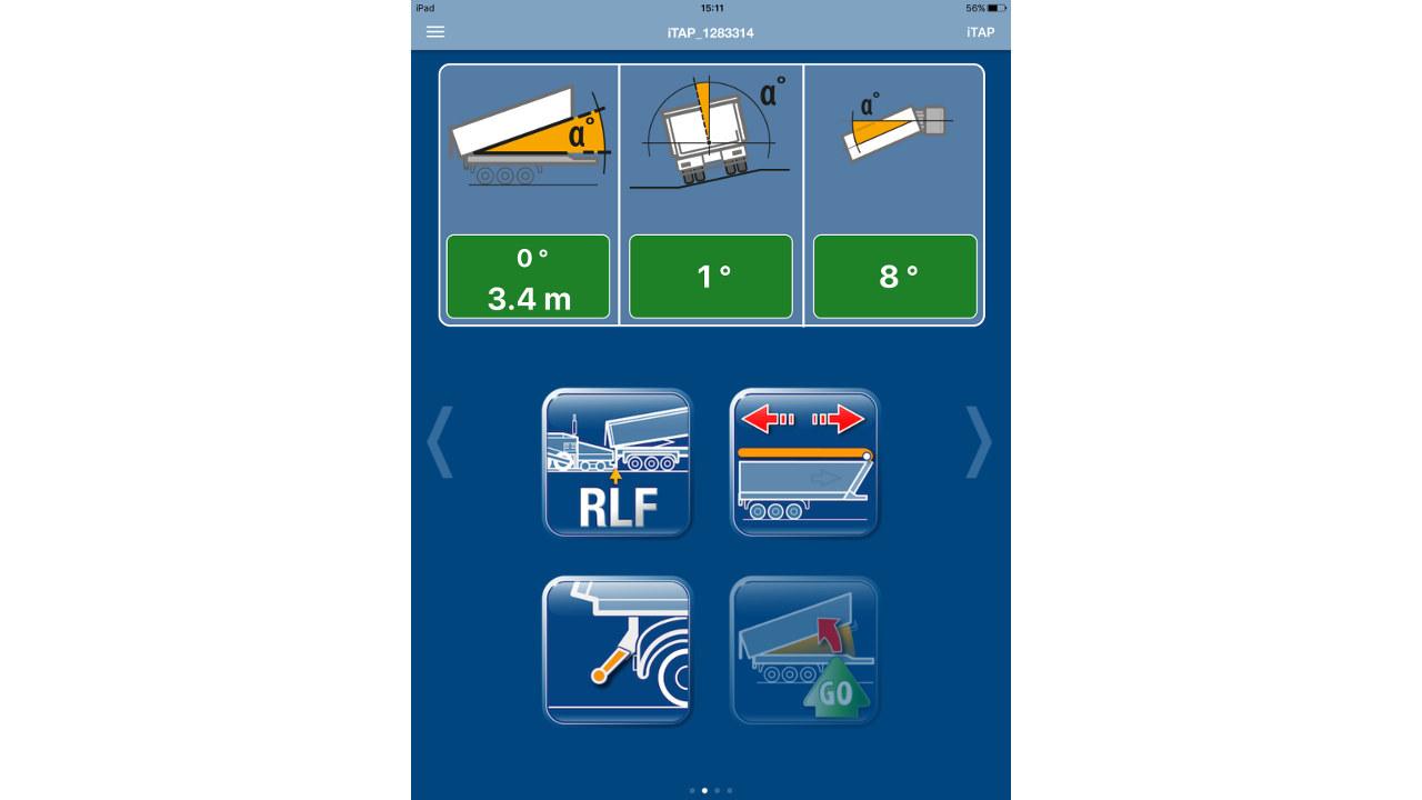 A billentéssel kapcsolatos összes fontos adat megtekinthető az alkalmazásban, így elkerülhetők a balesetek