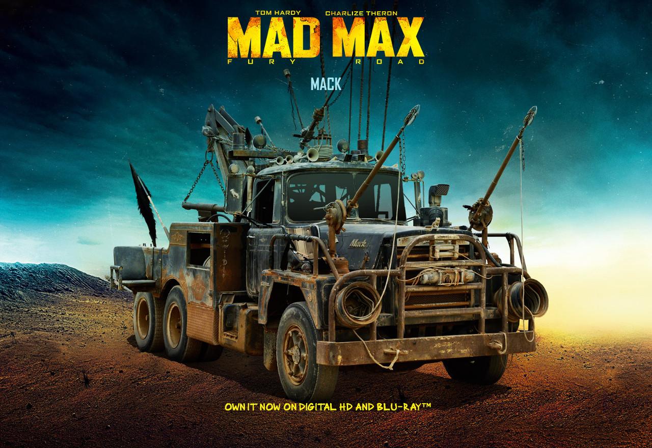 Klasszikus amerikai nehéz-tehergépjármű, amely a filmben simán letarol mindent, ami az útjába kerül. Lényegében egy mozgó erőd