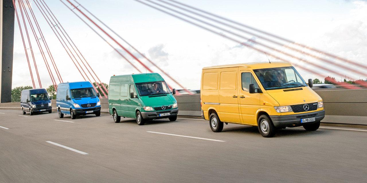 A Mercedes-Benz Sprinter család: Sprinter (2013)