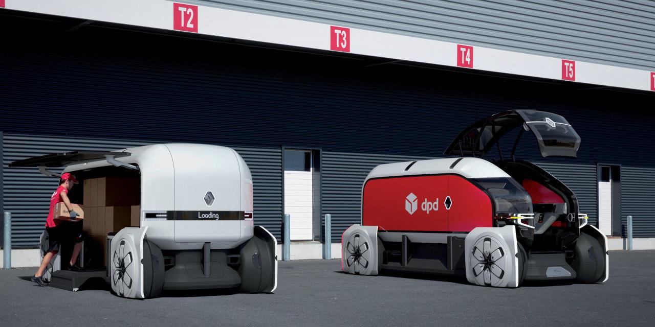 bc78bf738d Renault Ez-Pro tanulmány Remek reklámfelületként szolgálnak a méretes sík  oldalfalak ...