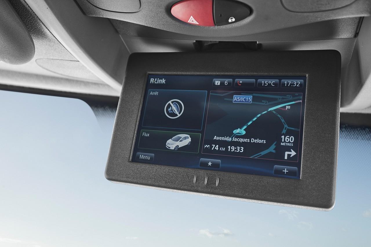 Z.E. Trip alkalmazással a navigációs rendszer megjeleníti a villanyautó-töltő helyszíneket