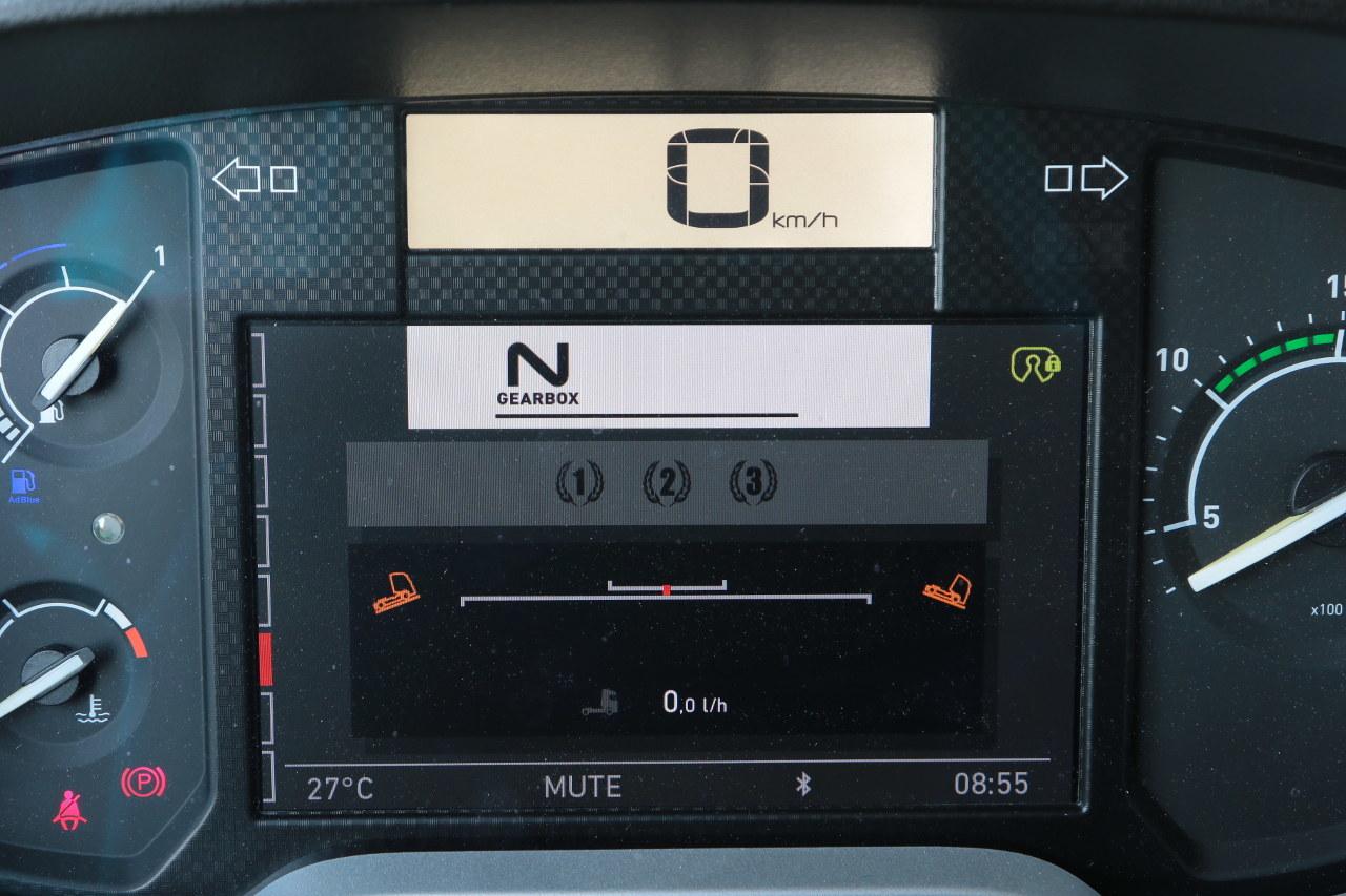 Immár a GPS-adatok alapján a domborzathoz előrelátóan alkalmazkodó hajtásláncvezérlés is elérhető a Renault Trucks T típushoz. Az Optivision nevű rendszer az Eco sebességszabályozás felső két szintjén aktív