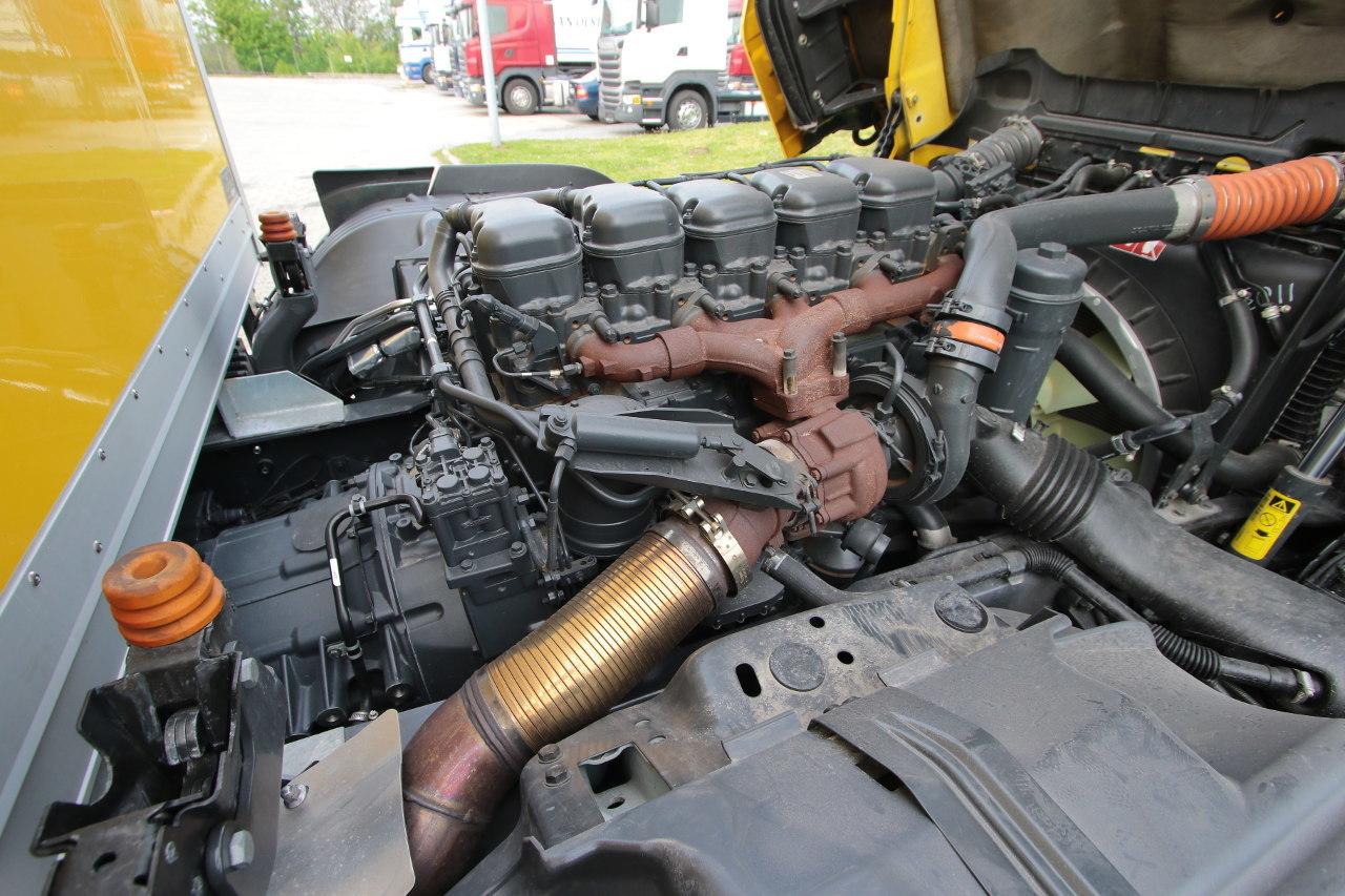 Ez a motor kipufogógáz-visszavezetés (EGR) nélkül, fix geometriájú turbófeltöltővel teljesíti az Euro VI-os normát
