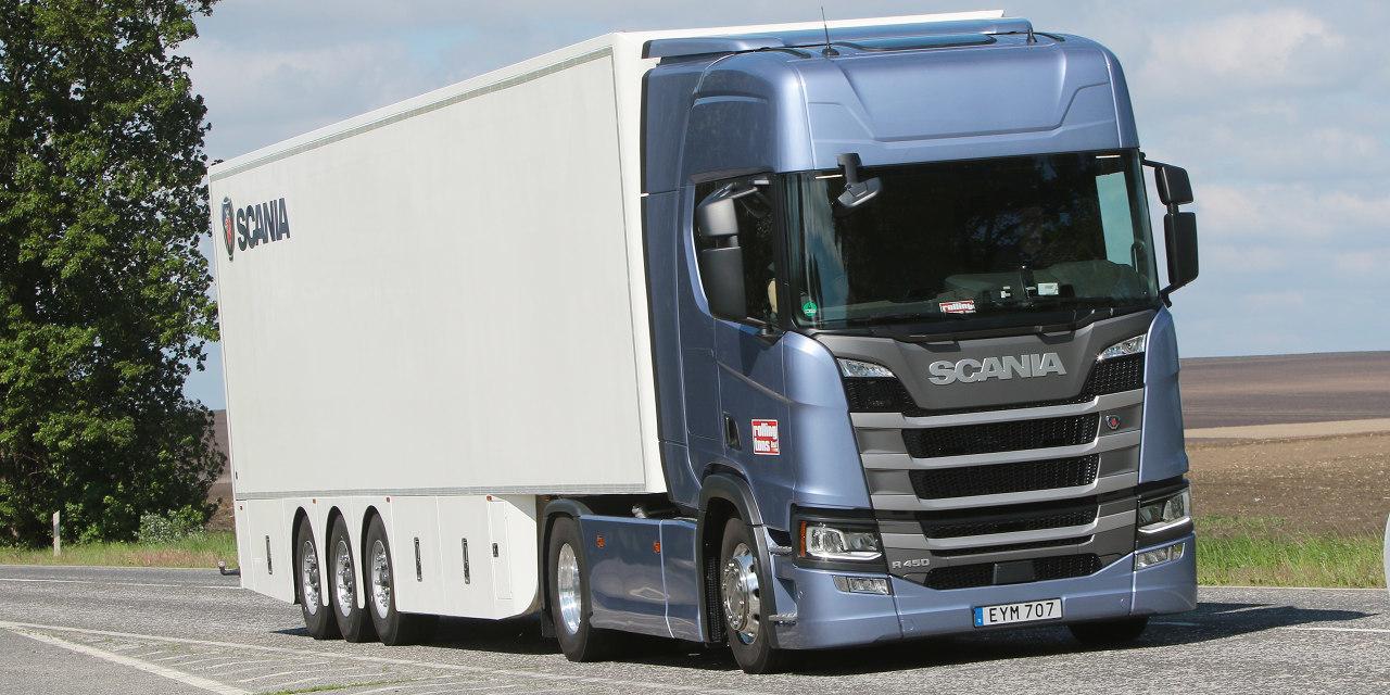 Scania R 450 A4x2NB Highline teszt