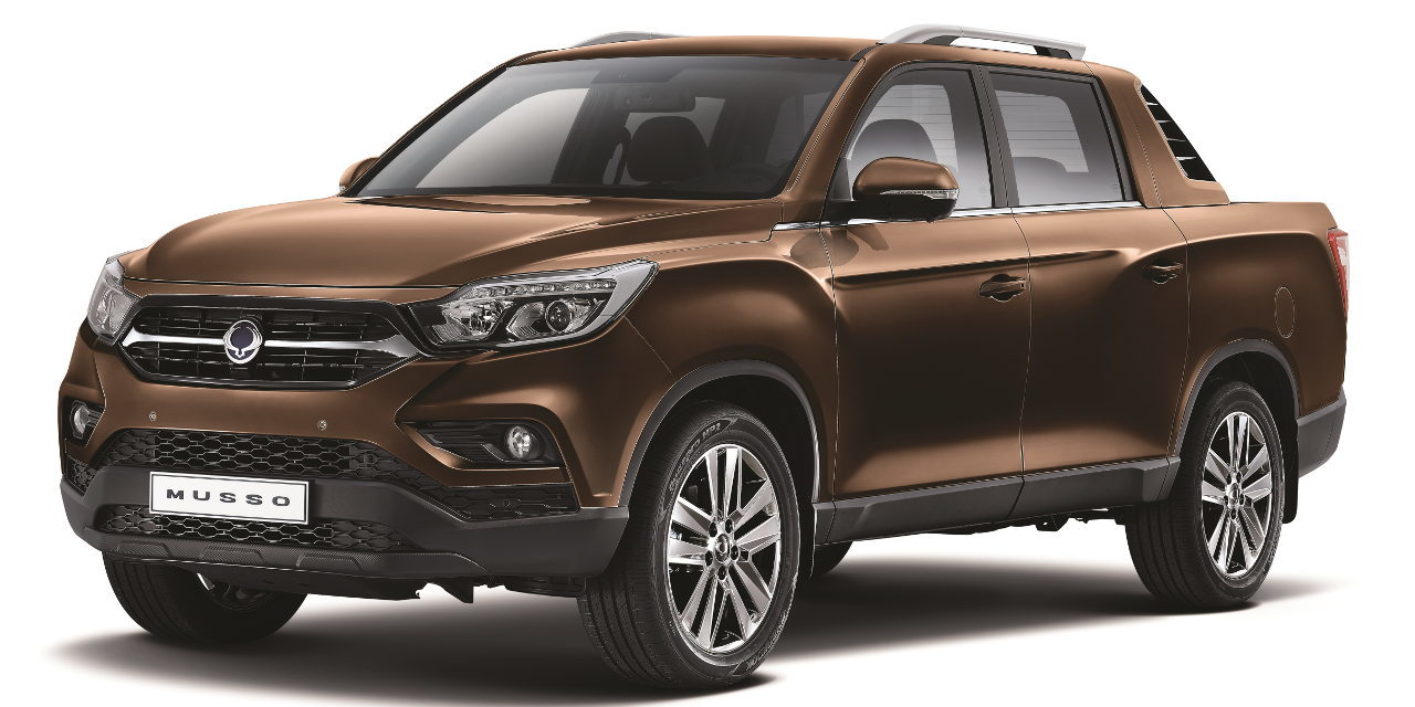 SsangYong Musso Sports Utility Truck