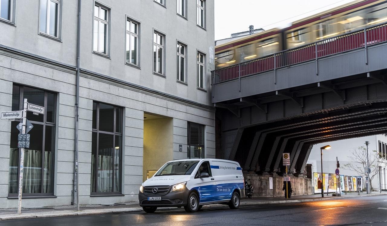 A Mercedes eVito jó választás nagyvárosi munkára