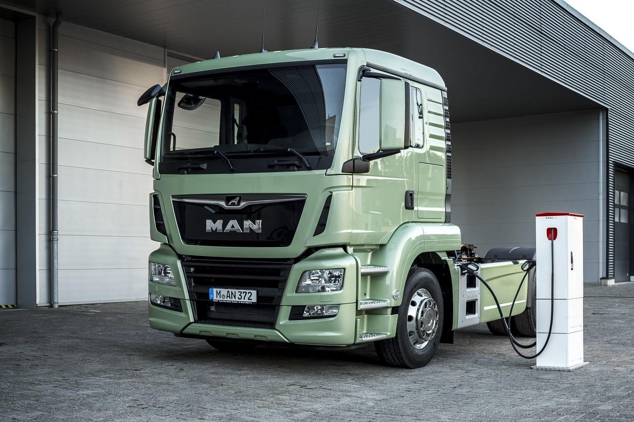 Az MAN is beszáll a teljesen elektromos hajtású tehergépkocsik piacára