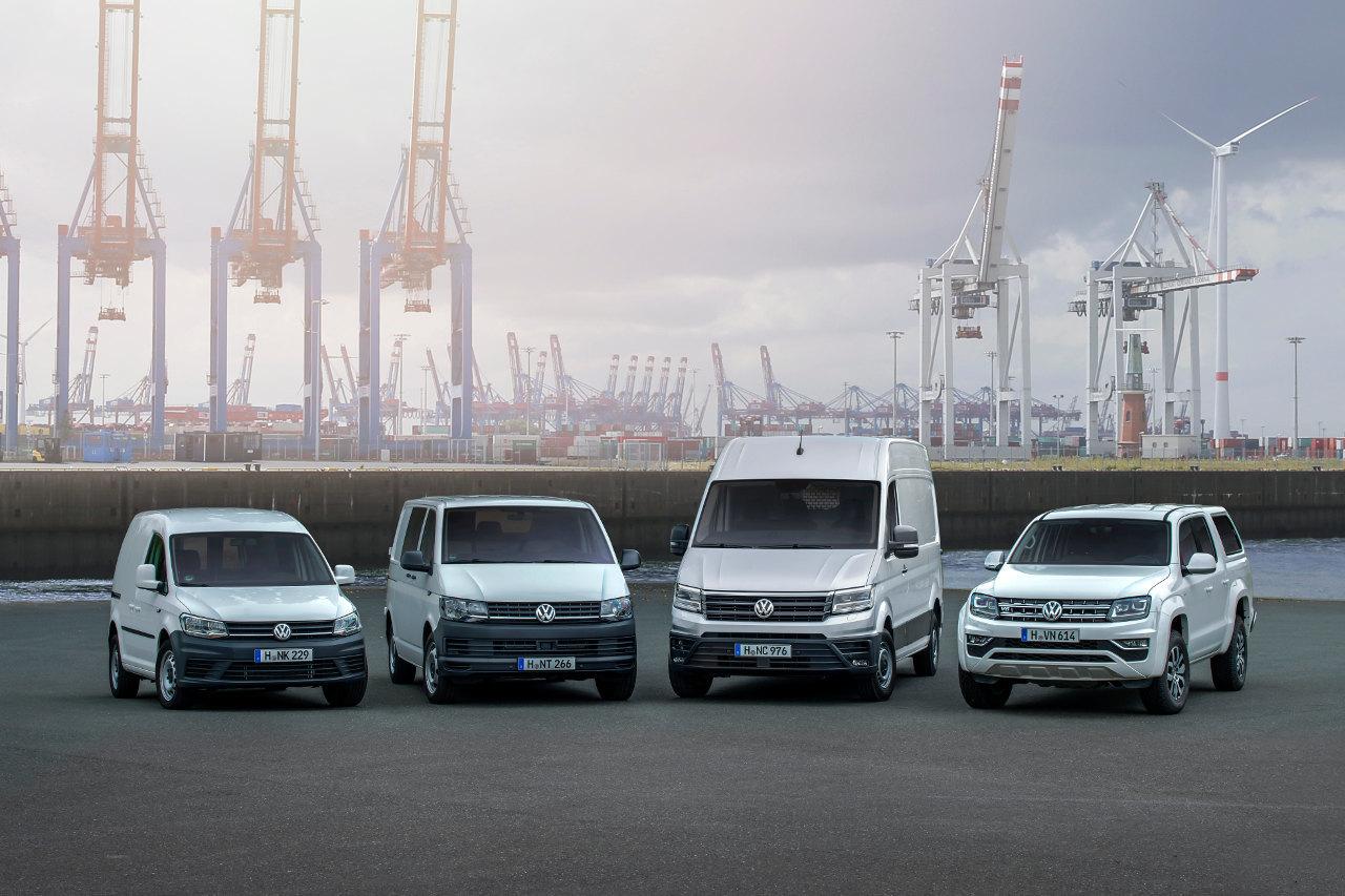 Az új Crafter is megkapta az éppen aktuális Volkswagen-arculatot