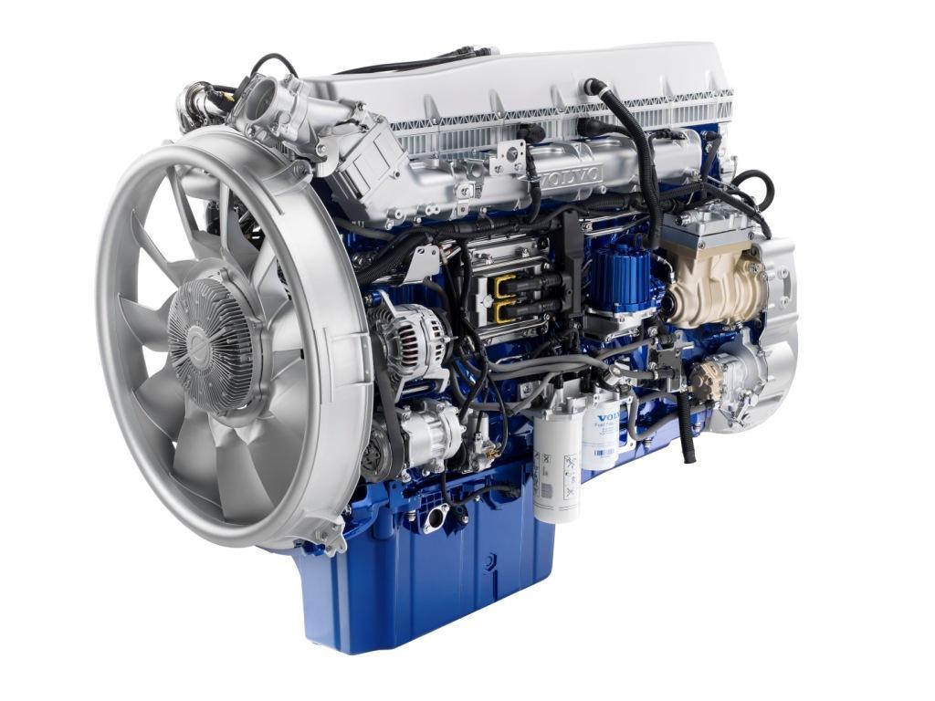 A soros, hathengeres, 16,1 literes motor közös nyomócsöves befecskendezést kapott az Euro 6 norma teljesítéséhez, a hűtés hatékonyságát pedig a ventilátor körüli új légterelő fokozza
