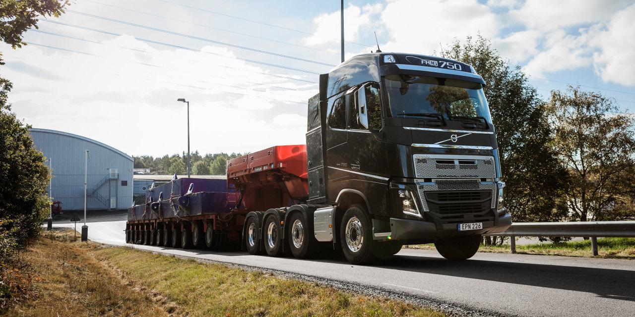 Volvo I-Shift kúszófokozatokkal